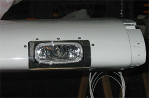 MCR-45  with XeVision HID Xenon light