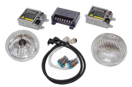 XeVision HID pulsing kit with XeStrike ballast and XePulse XV-PCM1 HID pulsing module